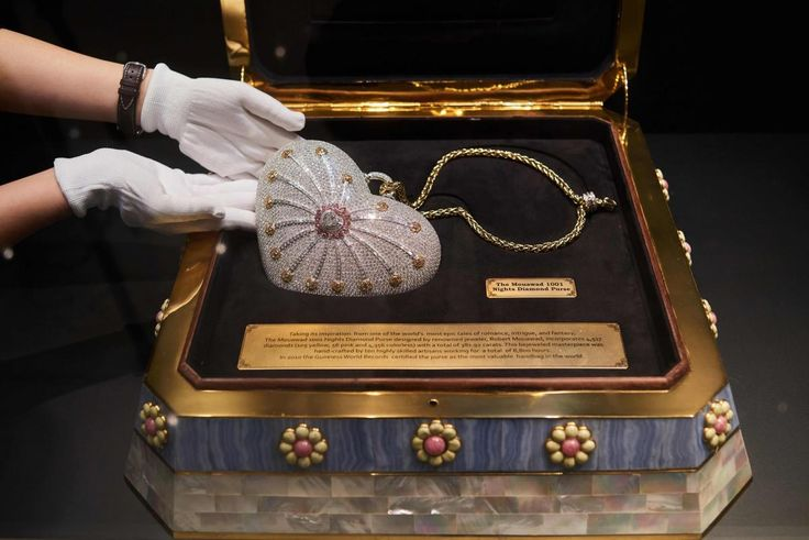 Feast your eyes on the world's most expensive bag valued at $3.8 million! -