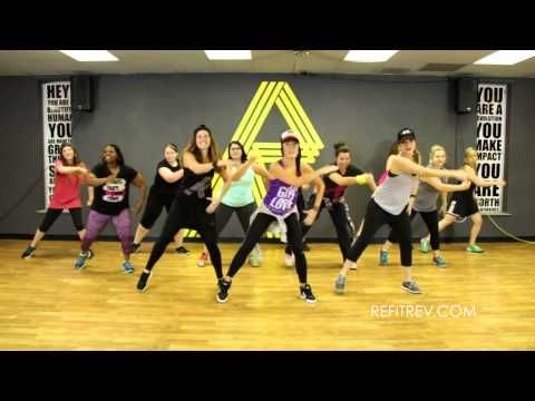 "Warm-up ""I'm All Yours"" Jay Sean and Pitbull video, Cardio Dance Fitness by REFIT® Revolution - YouTube"