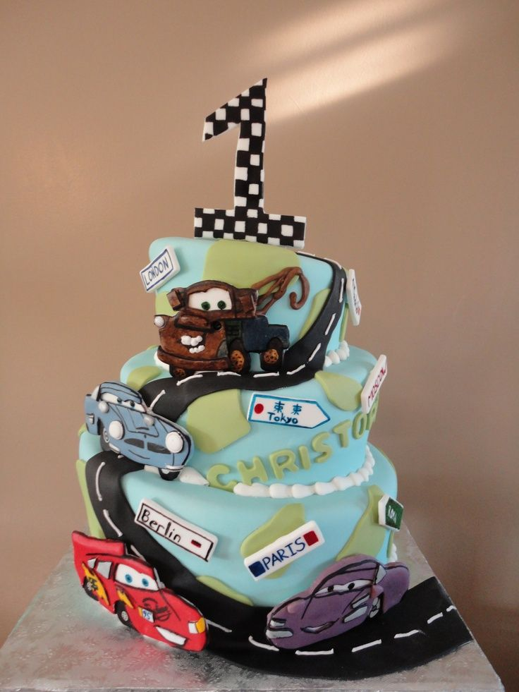 cars disney cake