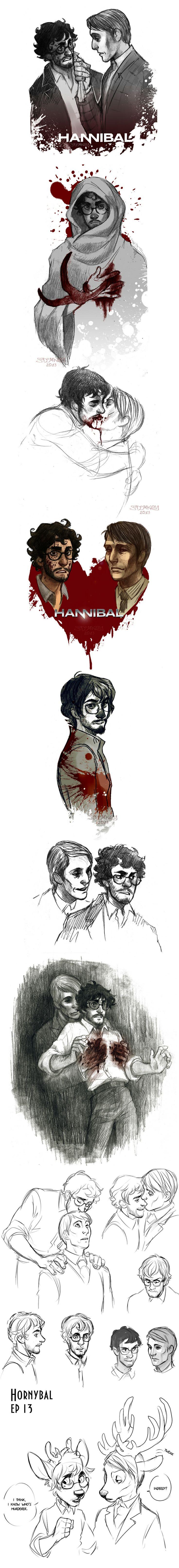 Hannibal by MisterKay.deviantart.com on @deviantART