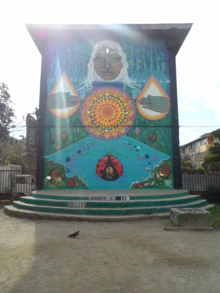Museo a Cielo Abierto, Comuna de San Miguel, Santiago de Chile