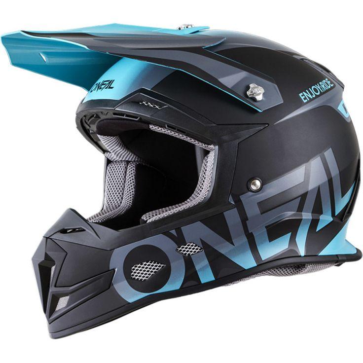 Oneal 2018 5 Series Blocker Black/Teal Helmet