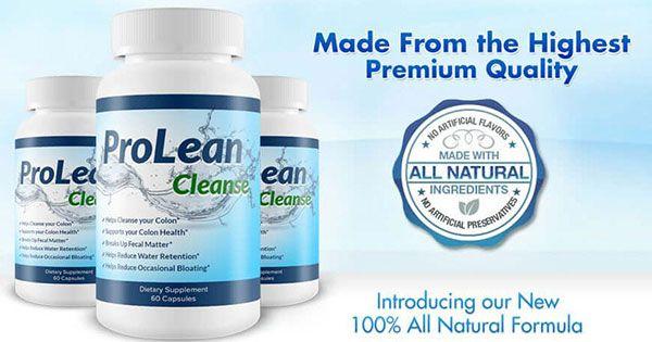 ProLean Cleanse Review  Effective Colon Cleanse & Detox Supplement?