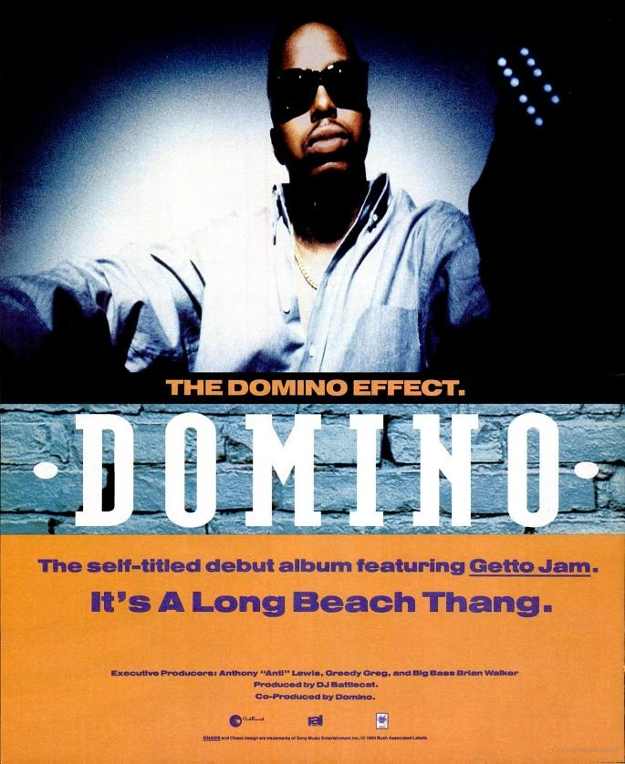 Domino Rer From Long Beach Ca Vibe December 1993 Vintage Music Ads Pinterest Hip Hop And Urban