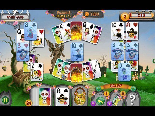 """Zapomniane Opowieści: Dzień Zmarłych gra.      Zabawna gra z masą wyzwań     100tki wyjątkowych graficznie poziomów     Poznaj śmieszne postacie     Zbieraj składniki     Rewelacyjne karty """"bonusowe"""" http://www.casualgry.com/puzzle_i_logiczne/forgotten-tales-day-of-the-dead.html"""