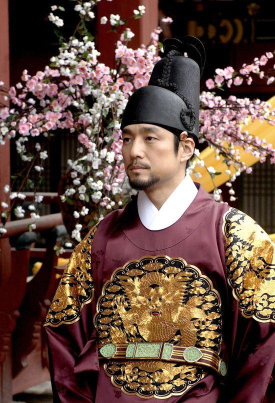 Korean drama [Dong Yi]   = 숙종 [King Sukjong]  - 지진희 (Ji Jin-hee )