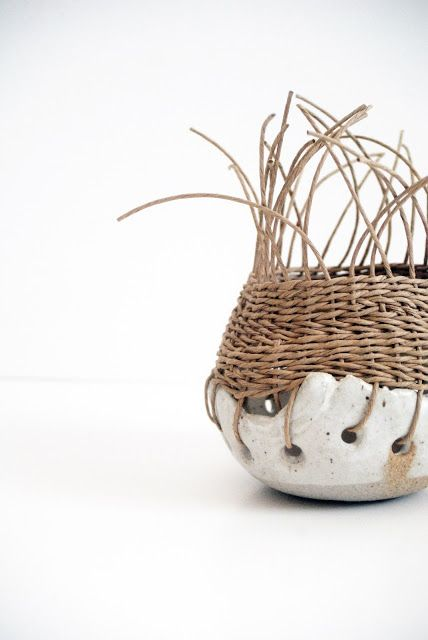 Basket Weaving Fiber : Best images about art project ideas clay on
