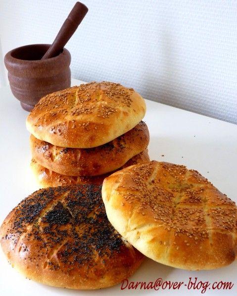 aujourd'hui,nous allons découvrir un délicieux pain qui provient de la cuisine algérienne,avec une recette de ma chère amie kaouther que je remercie pour toutes les recettes qu'elle a partagée avec moi depuis des années et qui est ma référence pour la...