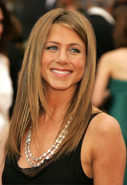 Diamond Necklace, and Jennifer Aniston at the 2006 Oscars