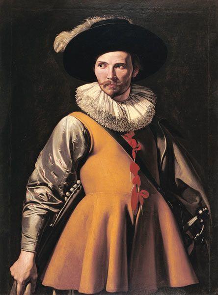 Michelangelo Caravaggio - Bildnis eines Mannes.