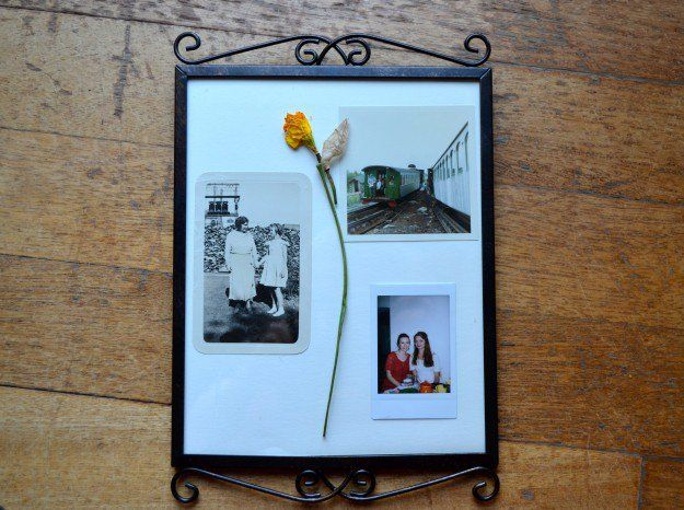 polaroid crafts | polaroid frame craft