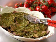 Ricetta Portata principale : Lingua di manzo in salsa verde da Red_alessia_red