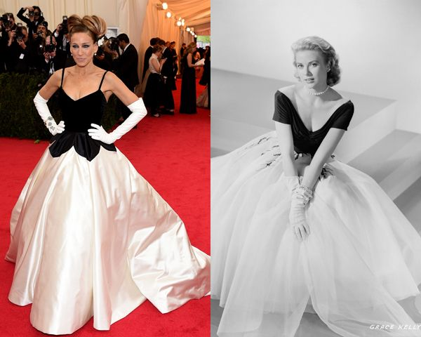 SJP wearing pure Hollywood Glamour & Style.