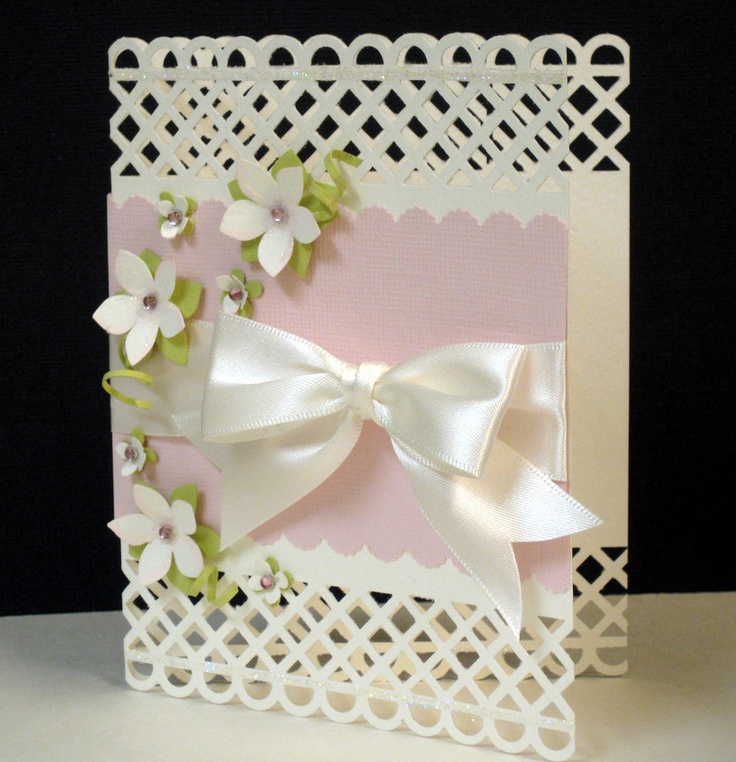 Card Making Ideas Using Punches Part - 20: Great Look For The MS Boarder Punch. Punch ArtCute CardsHomemade ...