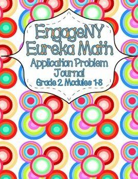 Engage NY Eureka Math Grade 2 Modules 1-8 Application Problems Journal: THE BUNDLE!
