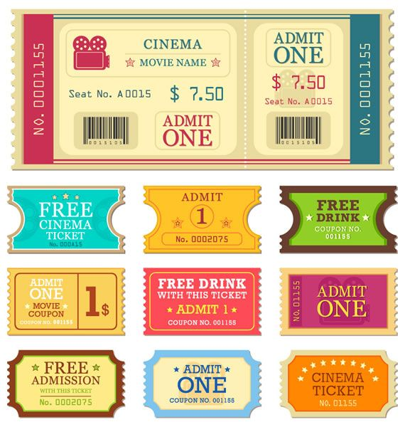25+ unique Free ticket maker ideas on Pinterest House rules - concert ticket maker