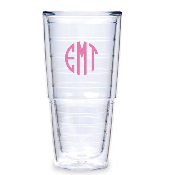 Monogramed Tervis Tumblers make the perfect gift for any graduates!