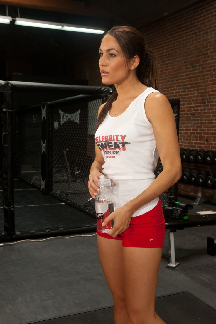 Former WWE Diva Champs - The Bella Twins - Celebrity Sweat