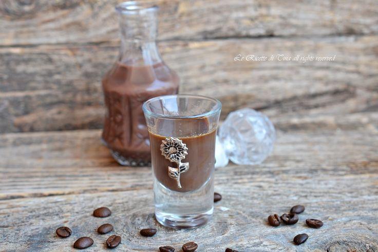 Liquore caffè e cioccolato