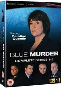 #Blue Murder: The Complete Series 1-5 #Manchester-set ITV police drama starring Caroline Quentin as high-ranking detective DCI Janine Lewis. Blending the gritty fast pace of murder investigations with the warmth and chaos of family life this series follows Le... (Barcode EAN=5037115339638)