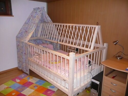 This Is A Great Idea Of Locking An Adult Baby Into A Crib