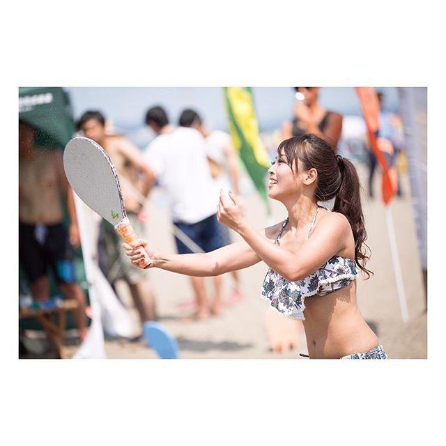 【cadis_akino】さんのInstagramをピンしています。 《. 夢を叶えるために 現状に満足せず常に前を みて進む!! . #sports #sportsgirl #frescobol #frescoball #スポーツ好き #スポーツ大好き女子 #フレスコボール #beach #beachsports #ビーチ #海 #fashion #立ち止まらない #me #諦めない #トレーニング》
