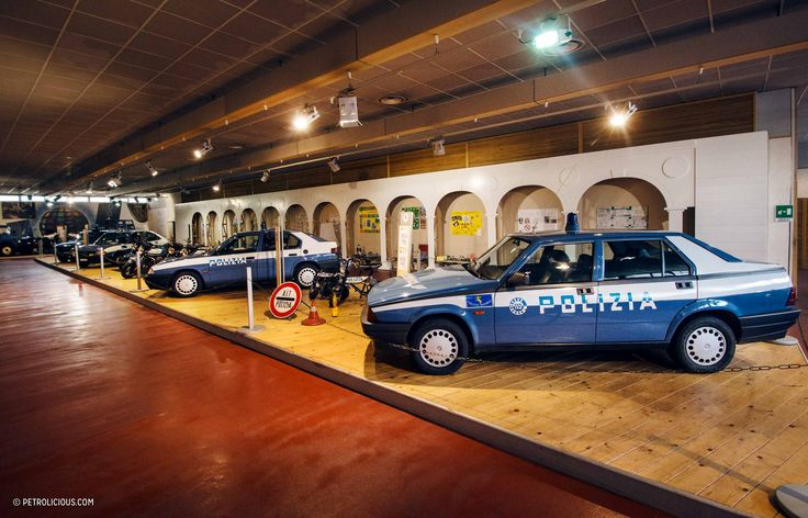 You Need To Visit The Italian Police Car Museum - Petrolicious