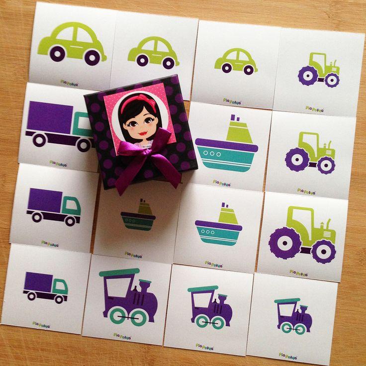 """""""Pia Polya Taşıtlar Büyük, Orta, Küçük Kartları""""    Oyun, Pia Polya'nın tüm çocuklara hediyesi olup, fikir mülkiyeti Hotalı Ambalaj Tasarımına aittir."""