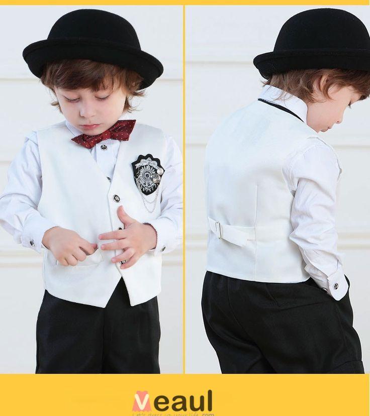 Enfants Tuxedo / Veste / Vetements De Performance / Petits Costumes Fixes / Anneau Porteur Costumes [2415030017] - Veaul.com