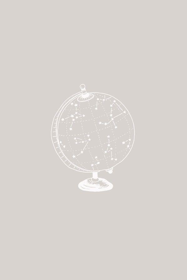 Star Globe illustration art print by Bea & Bloom Creative Design Studio – Availa… – Mrs Clifford