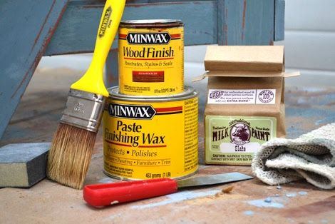 Authentic Vintage Distressed Finish with Minwax Stain | Ana White DIY Projects