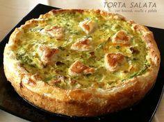 TORTA SALATA con BROCCOLI, RICOTTA e PATATE - ricetta