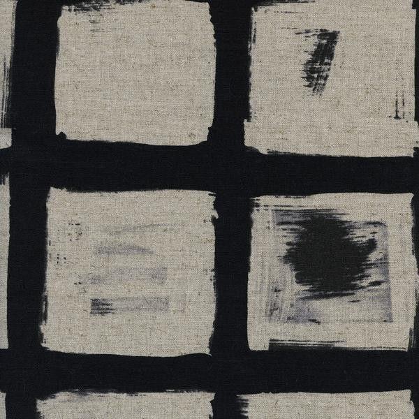 Black & White 2 CANVAS Woodblock