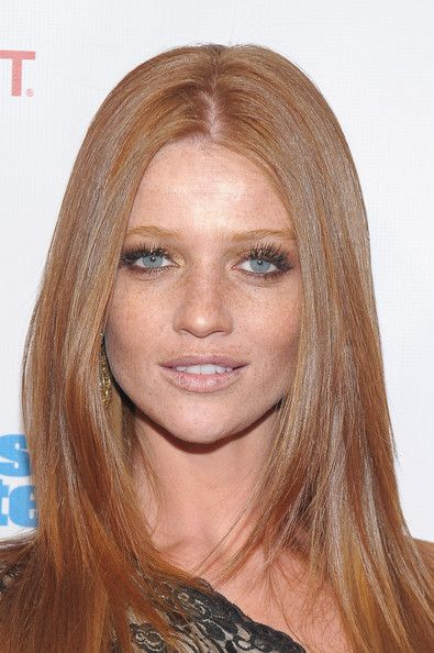 Oh Cintia Dicker! vivid blue eyes and freckly ginger yumminess! <3