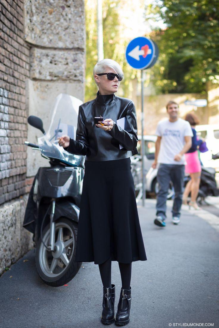 love that. #KateLanphear in Milan.