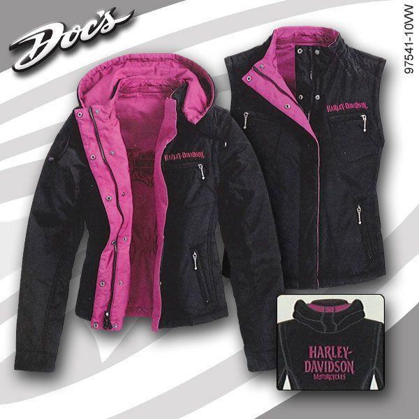 Harley-Davidson Womens Reversible Jacket | MonsterMarketplace.com