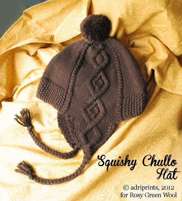 Squishy Chullo Hat pattern on Craftsy.com