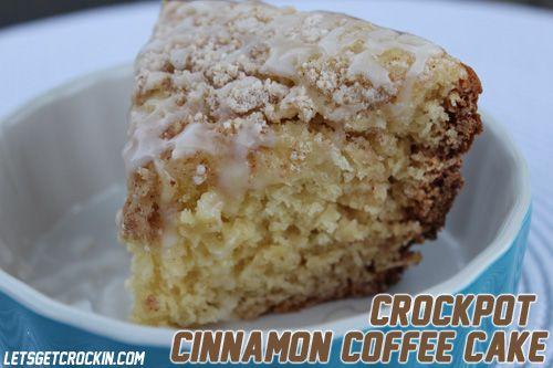 .: Cinnamon Cakes Memorial, Crockpot Cinnamon, Cakes Batter, Crock Pots, Slow Cooker, Cinnamon Cakes, Cinnamon Coffee Cakes, Buttons Recipe, Memorial Cakes Recipe