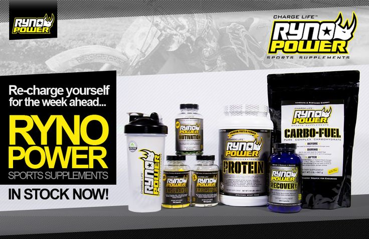 RYNO POWER | IN STOCK NOW!  Click here; https://www.dirtbikexpress.co.uk/accessories/motocross_training__and__nutrition/ryno_power_sports_supplements?utm_content=buffer6fede&utm_medium=social&utm_source=pinterest.com&utm_campaign=buffer  #RynoPower
