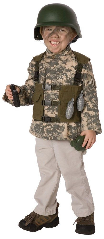 little boys playing army boys army ranger costume kit military costumes for child - Halloween Army Costume