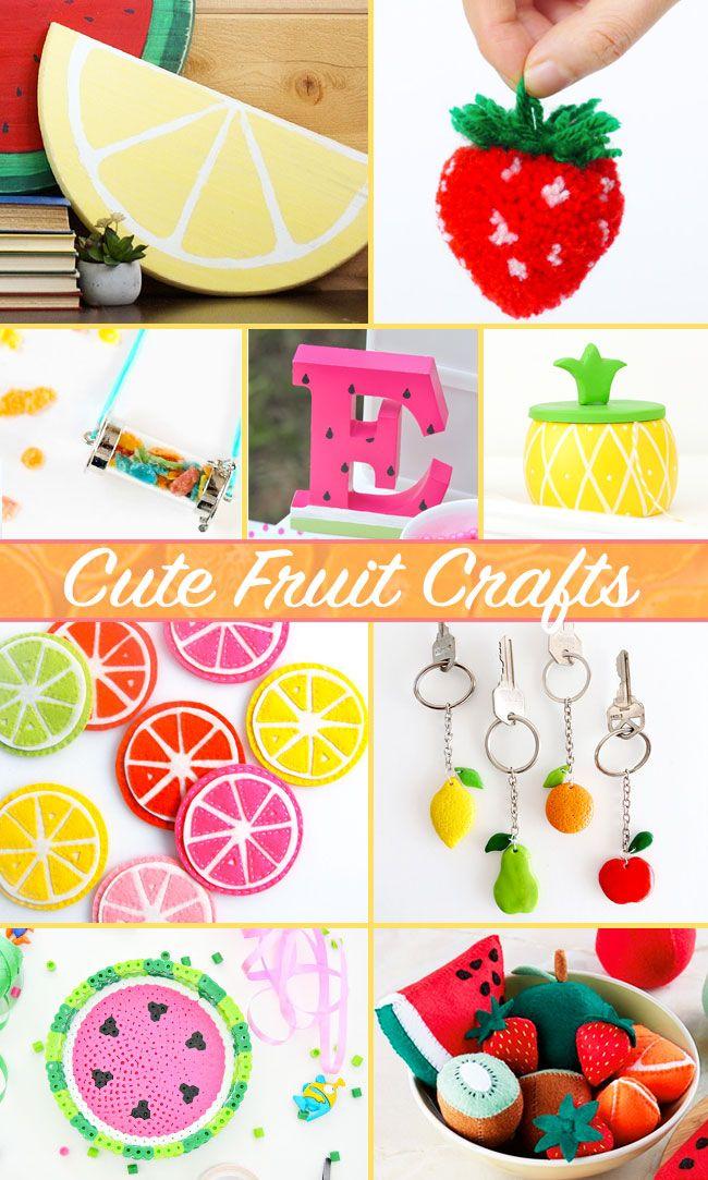 9 Cute Fruit Craft Ideas