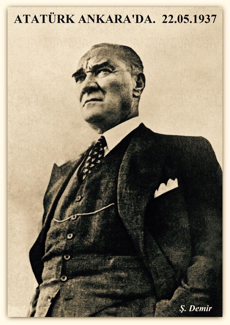Atatürk Ankara'da 22.05.1937