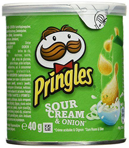 Pringles chips Crème & Oignon Mini 12 x 40 g: idéal pour vos apéritifs tuile de chips boite référable Cet article Pringles chips Crème &…