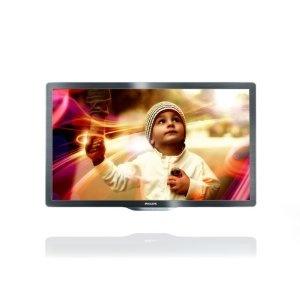 Philips 55PFL6606K/02 139 cm (55 Zoll) LED-Fernseher, Energieeffizienzklasse A+ (Full-HD, 400 Hz PMR, DVB-T/-C/-S, Smart TV) dunkel gebürstetes Silber: Amazon.de: Heimkino, TV & Video