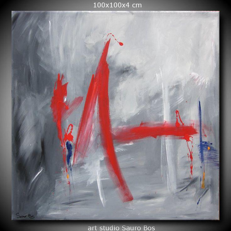 quadro astratto olio su tela 100x100 per info . http://www.saurobos.it/prodotto/quadro-astratto-soggiorno-100x100/