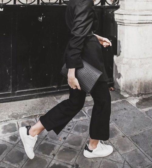 White Sneakers Outfit | Lovika