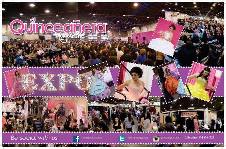 Los Angeles Expo Quinceanera Magazine Pomona Fairplex  #quinceaneramagazine #expoquinceanera2015 #quinceaneraexpo2015 #castingexpomodels2015 #castingmisscover2015  Where our magazine comes alive! start planning your Quinceanera, Sweet Sixteen or wedding by attending this Quinceanera Magazine Expo, find every service you need for that special ocassion. All under one roof, at the Pomona Fair Plex with as many 100 vendors. Tickets https://losangelesexpoquinceaneramagazine.eventbrite.com/
