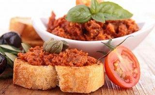 Tofu-Tomaten-Paste