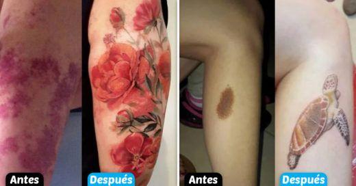 Cover Marcas de nacimiento que fueron transformados en geniales tatuajes