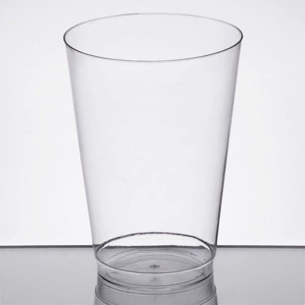 Choice 16 oz. Clear Hard Plastic Tumbler - 500/Case